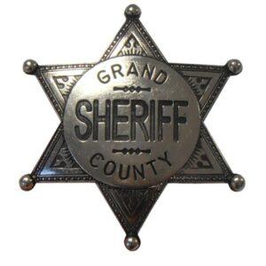 Etoile grand Shériff County - Insigne broche