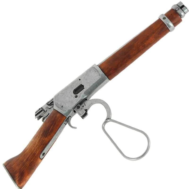 Carabine Winchester canon scié - Mare's Leg + levier sous garde