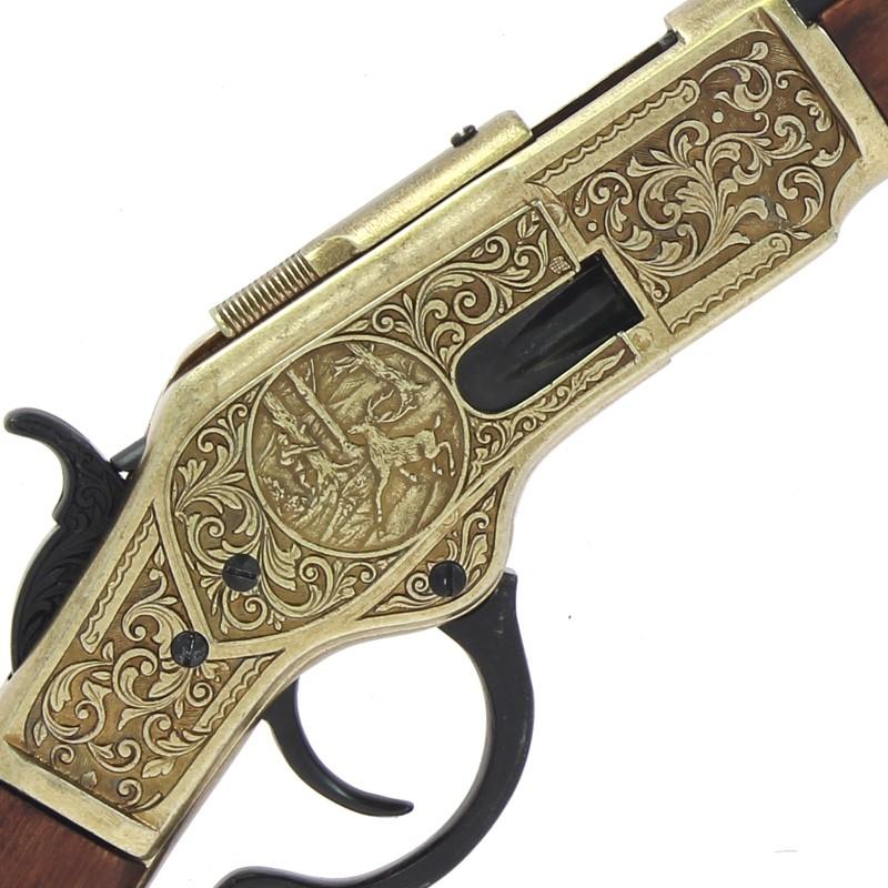 Carabine winchester modèle 1873+gravure