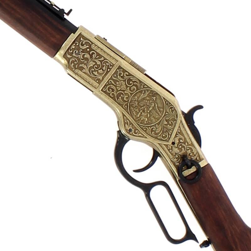 Carabine winchester modèle 1873+levier sous garde