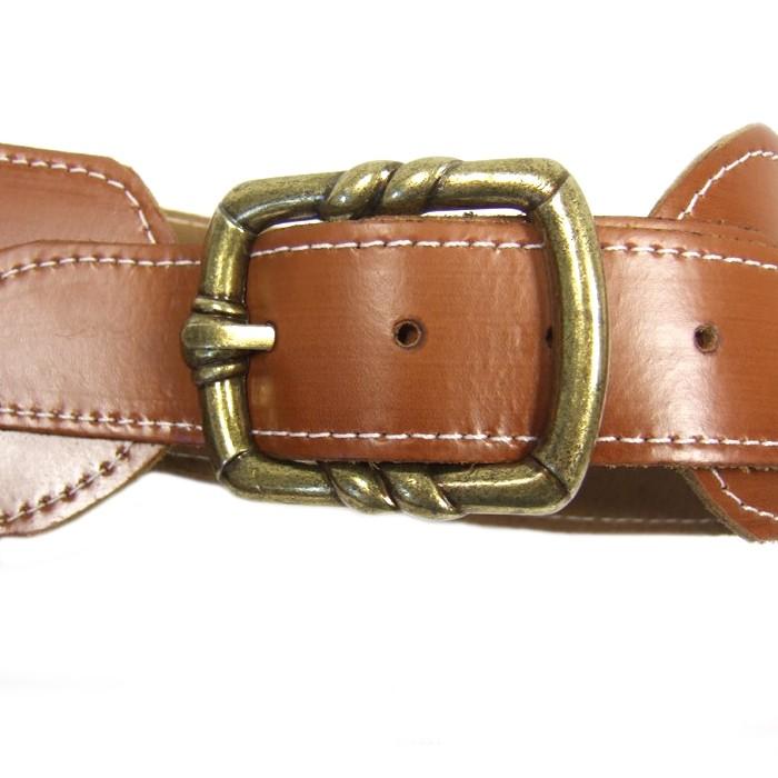 Ceinturon Sheriff - Holster simple+boucle
