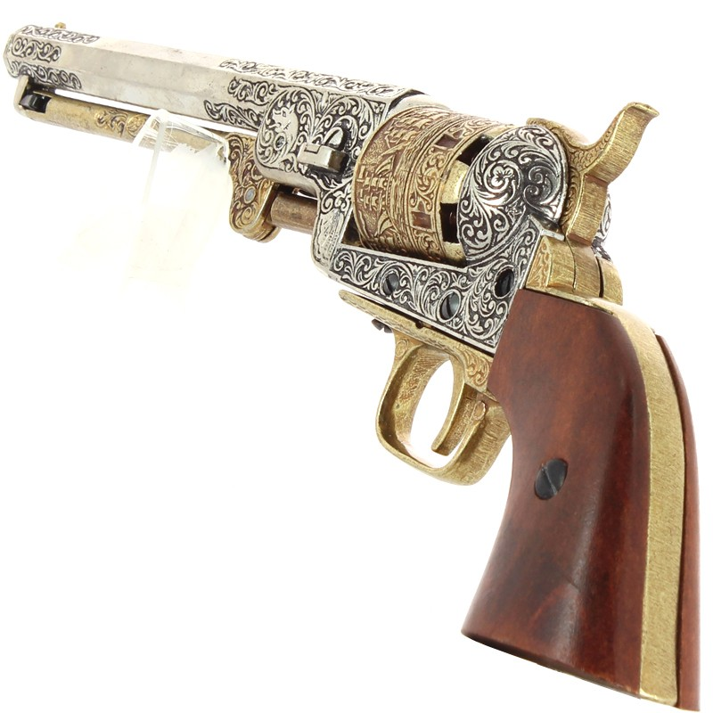 Colt Navy Revolver 1851 + Crosse...