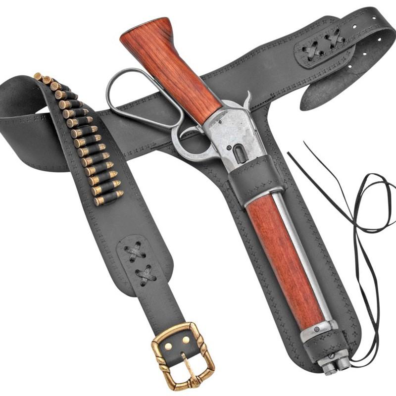 Carabine Winchester canon scié - Mare's Leg + holster