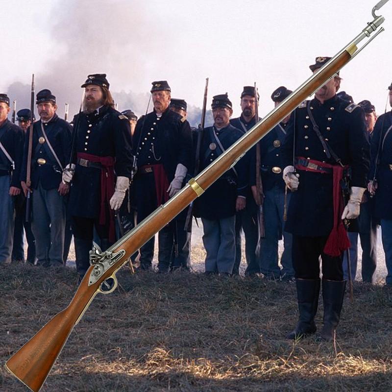Fusil Mousqueton à baïonnette Brown Bess - Anglais 1722