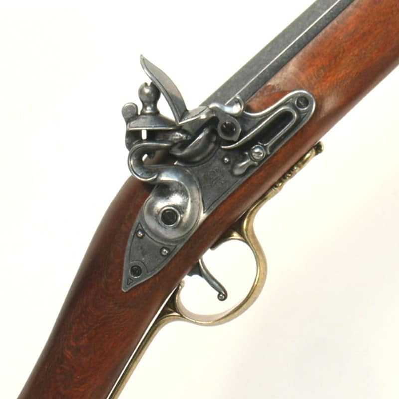 Fusil Mousqueton à baïonnette Brown Bess - Anglais 1722+mecanisme