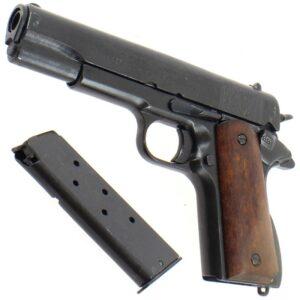 Pistolet M1911 Colt 1911 - réplique avec son chargeur