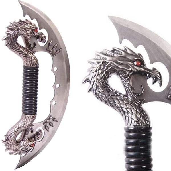 Dague fantasy double dragon