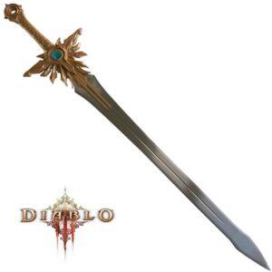Epée de la justice El'druin - Diablo III - Epée Tyrael+lame