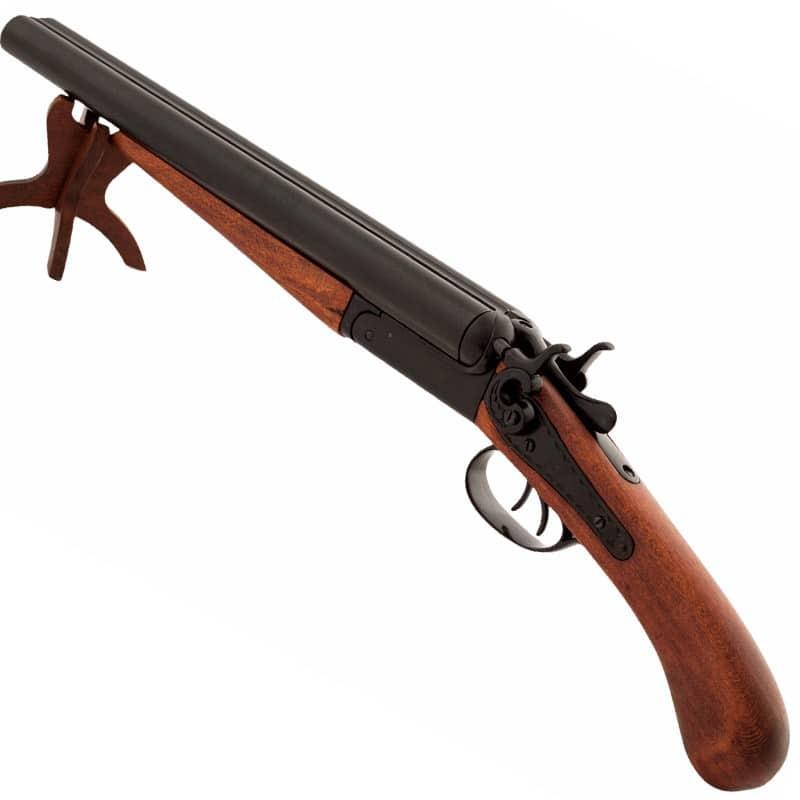 Fusil double canons scié