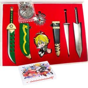 coffret épées-meliodas